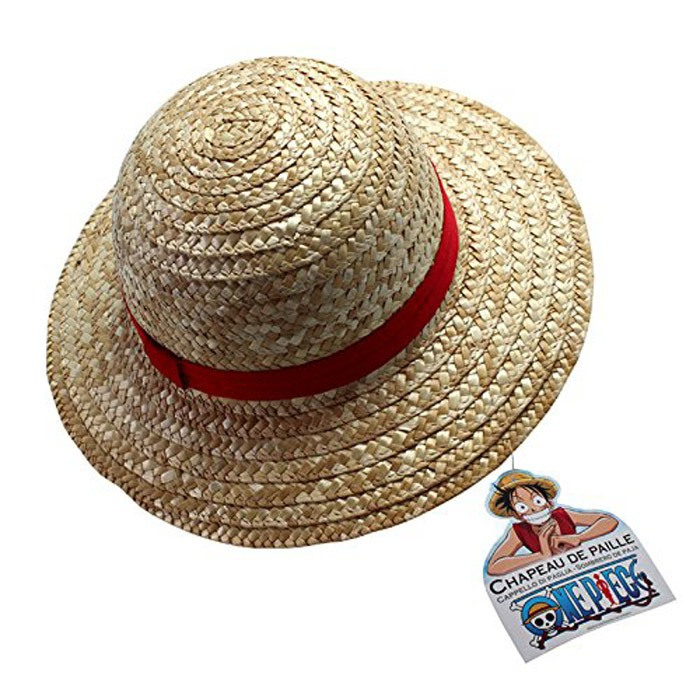 Chapeau de paille Luffy One Piece - Obyz