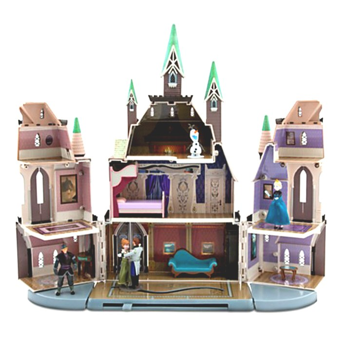ch teau de la reine des neiges disney la famille d mo jouets. Black Bedroom Furniture Sets. Home Design Ideas