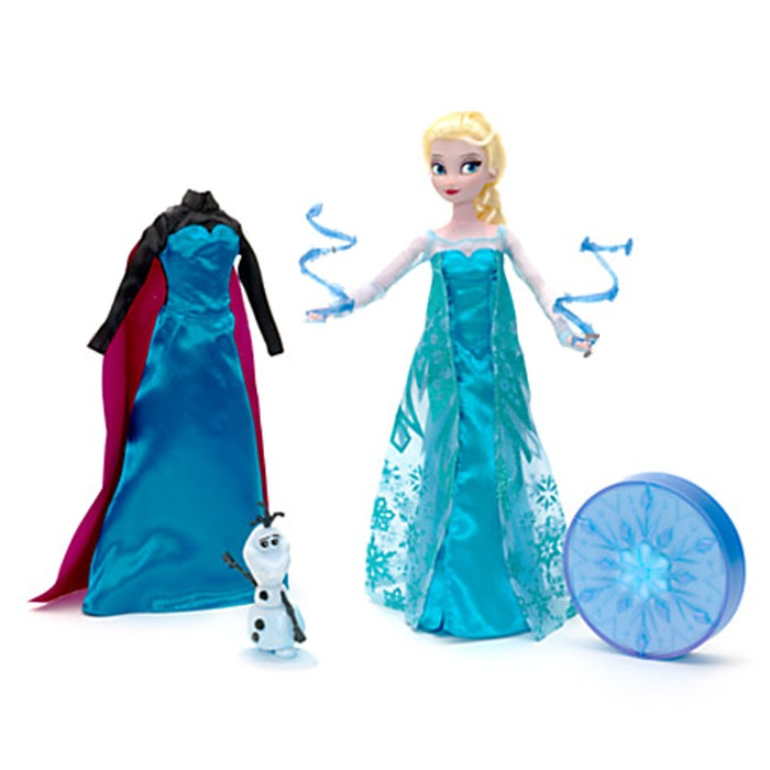 poup e chantante elsa reine des neiges disney la famille d mo jouets. Black Bedroom Furniture Sets. Home Design Ideas