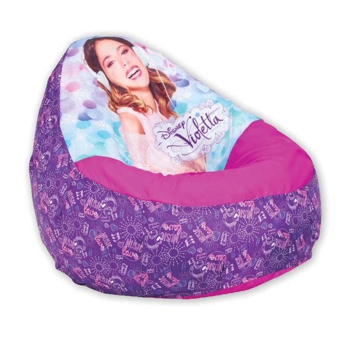 Fauteuil Relax gonflable Violetta Disney - Worlds Apart