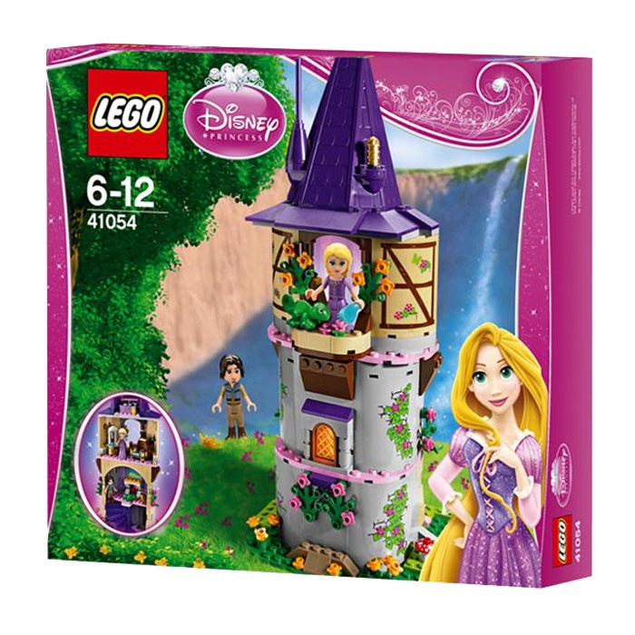 tour raiponce lego 41054 disney princesse la famille d mo jouets. Black Bedroom Furniture Sets. Home Design Ideas