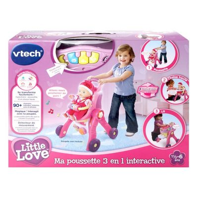Little Love poussette interactive 3 en 1 - Vtech