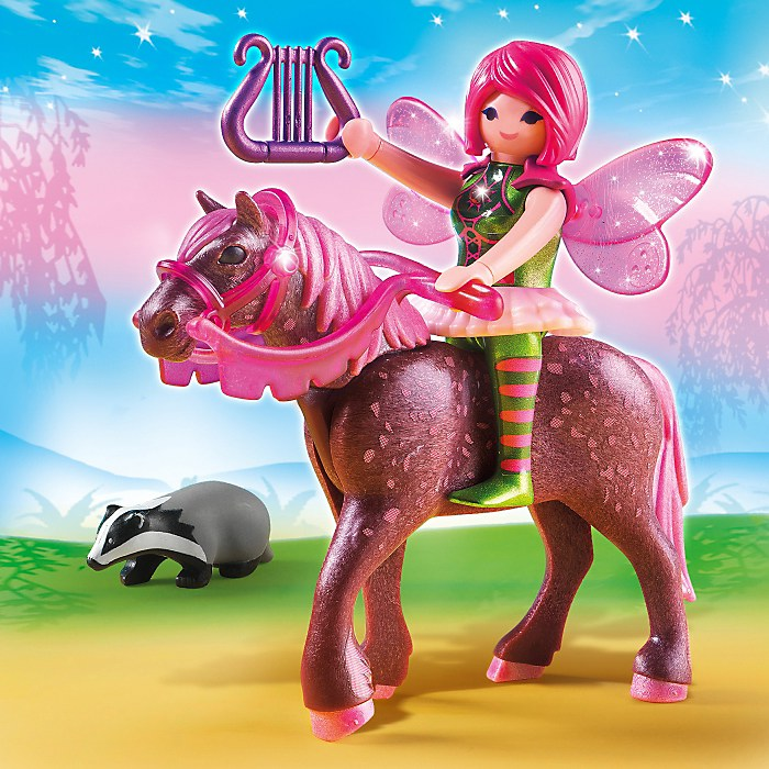 Playmobil Fairies Fée Surya et son cheval Rubis - 5449