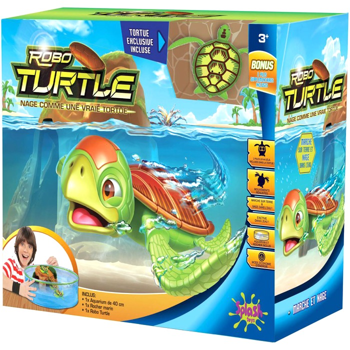 Robo Turtle Aquarium - Splash Toys