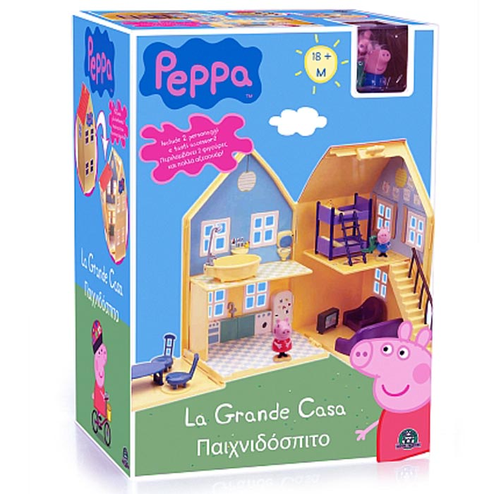 la maison de peppa pig archives la famille d mo jouets. Black Bedroom Furniture Sets. Home Design Ideas