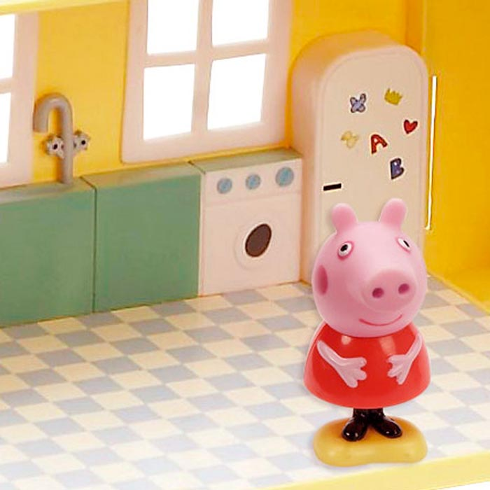 peppa pig la maison de luxe giochi preziosi la. Black Bedroom Furniture Sets. Home Design Ideas