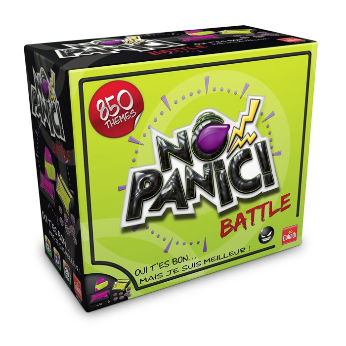 No Panic Battle - Goliath
