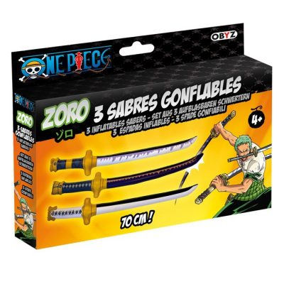 Sabres Gonflables Zoro One Piece - Obyz