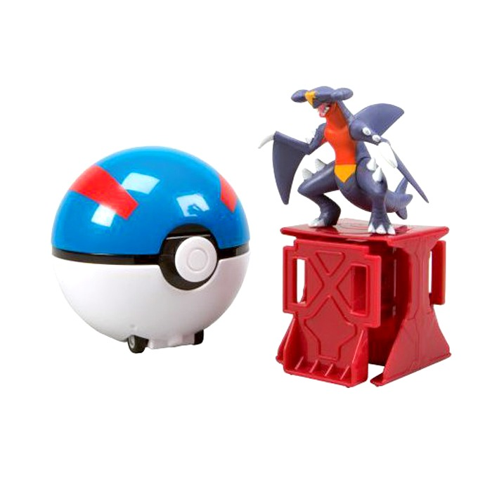 Pokémon Super Catch N Return Poké Ball - Tomy