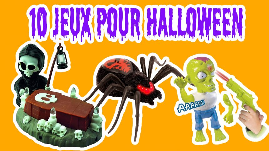 photo de l'article nos 10 jeux et jouets halloween 2017